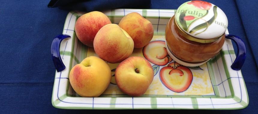 Chunky White Peach Marmalade